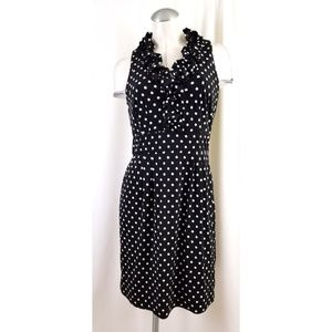 Just...Taylor Size 8 Black White Dress Ruffles